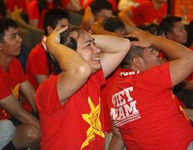 Người hâm mộ tiếc rẻ khi U23 Việt Nam thua trận