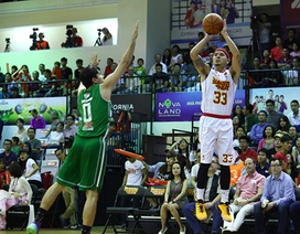 Sài Gòn Heat gây sốc khi đánh bại nhà vô địch bóng rổ Đông Nam Á