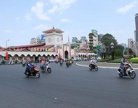 Đường phố Sài Gòn thoáng đãng trong ngày đầu của kỳ nghỉ Tết