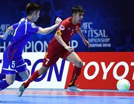 Đánh bại Đài Loan, đội tuyển futsal Việt Nam khởi đầu thuận lợi ở giải châu Á