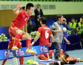 Đội tuyển futsal viết lại lịch sử bóng đá Việt Nam