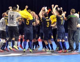 Xác định xong 5 đội tuyển châu Á dự World Cup futsal 2016