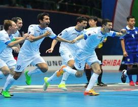 Uzbekistan vào chung kết, Thái Lan tái ngộ Việt Nam trong trận tranh hạng ba