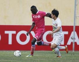 HA Gia Lai chia điểm với Than Quảng Ninh trên sân nhà