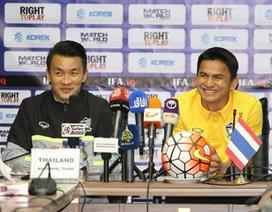 HLV Kiatisuk tuyến bố Thái Lan sẽ giành 17 điểm ở vòng loại World Cup 2018