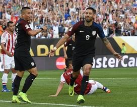 Vượt qua Paraguay, Mỹ giành vé vào tứ kết