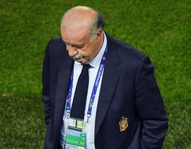 HLV Del Bosque lo lắng khi phải đối đầu Italia ngay vòng 1/8 Euro 2016