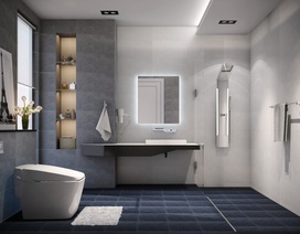 Đẹp từ phòng tắm đẹp ra cả nhà