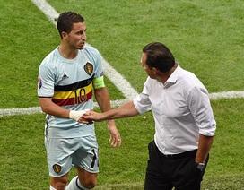 Hazard có nguy cơ lỡ trận đấu Bỉ-Wales