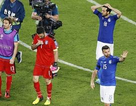 Báo giới Italia vẫn ngợi khen đội nhà sau trận thua Đức