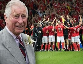Thái tử Charles gửi lời chúc đến đội tuyển Xứ Wales