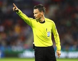 Trọng tài Matt Clattenburg điều khiển trận chung kết Euro 2016