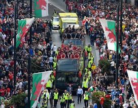 Đội tuyển Xứ Wales về nước với tư cách những người hùng