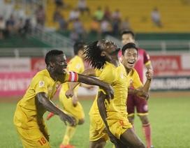 Vòng 17 V-League 2016: Căng thẳng đại chiến Thanh Hóa-B.Bình Dương