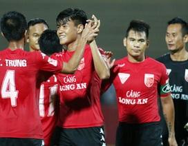 Thắng Sài Gòn FC, Long An bắt kịp HA Gia Lai trong cuộc đua trốn suất play-off