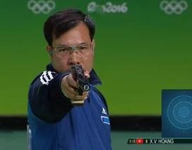 Hoàng Xuân Vinh tập luyện ở trường bắn lạc hậu hơn cả Myanmar và Lào