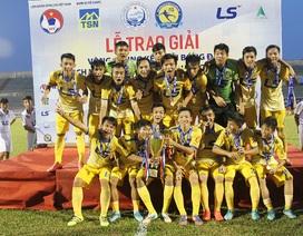 Vượt qua PVF, Đồng Tháp lần đầu vô địch U17 quốc gia