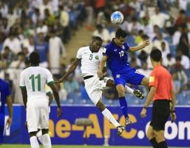 Thái Lan thua tức tưởi Saudi Arabia tại vòng loại World Cup 2018