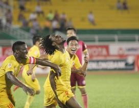 Thắng đậm Long An, Hải Phòng vẫn nuôi mộng vô địch V-League