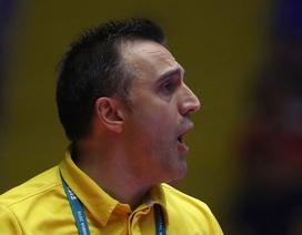 """HLV Bruno Garcia: """"Chúng tôi xứng đáng có mặt ở vòng 1/8 World Cup futsal"""""""