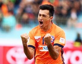 Merlo lập kỷ lục ghi bàn, SHB Đà Nẵng thắng đậm nhưng chỉ về thứ ba V-League