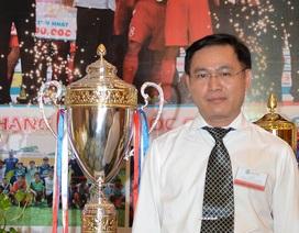 Ông Trần Anh Tú tiếp tục đắc cử vị trí chủ tịch Liên đoàn bóng đá TPHCM
