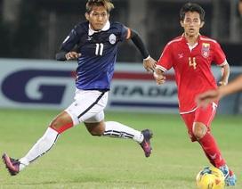 Thắng ngược Campuchia, Myanmar nuôi hy vọng vào bán kết AFF Cup