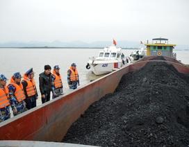 Cảnh sát biển bắt giữ tàu chở 800 tấn than lậu trên biển