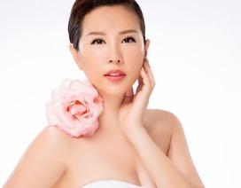 Hoa hậu Thu Hoài đẹp quý phái với đầm hở vai