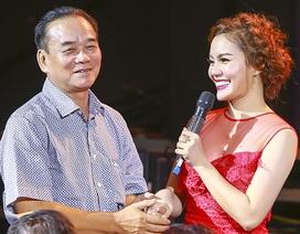Ngọc Anh xúc động tri ân thầy giáo đầu tiên trên sân khấu
