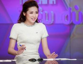 Mẹ Tú Anh nơm nớp lo sợ khi con gái dẫn chương trình trên VTV