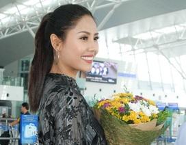 Nguyễn Thị Loan rạng rỡ lên đường sang Mỹ tham dự đấu trường nhan sắc