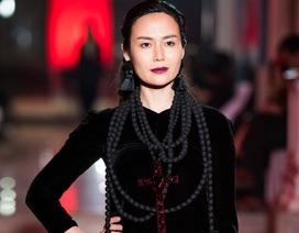 Hoa hậu Thu Thủy gây ấn tượng mạnh khi trình diễn thời trang