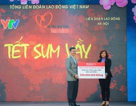 Prudential VN đem xuân ấm đến công nhân nghèo xa quê