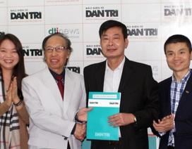 Các cơ quan báo chí tiếp tục ký hợp tác trao đổi thông tin với Dân trí