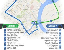 [Infographics] Lộ trình đi lại tránh kẹt xe tại trung tâm TP. HCM dịp lễ 30/4