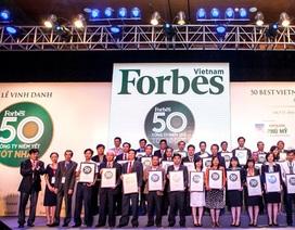 Forbes: Vinamilk là 1 trong 50 công ty niêm yết tốt nhất Việt Nam 2014