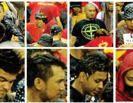 Cảnh sát Malaysia truy nã 12 tên hooligans tấn công CĐV Việt