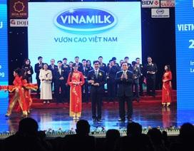Vinamilk tiếp tục được vinh danh Thương hiệu Quốc gia 2014