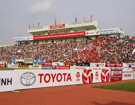 Sân Long An sớm được hâm nóng trong trận đấu có Công Phượng