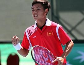 Đội tuyển quần vợt Việt Nam thắng trận ra quân ở Davis Cup