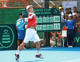 Quần vợt Việt Nam thắng trận thứ 3 tại Davis Cup
