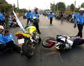 Chiếc mô tô gây tai nạn chết người có dung tích cả ngàn phân khối