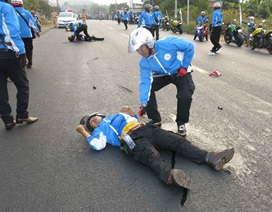 Tạm giữ phương tiện, làm rõ nguyên nhân tai nạn mô tô gây chết người