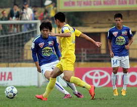Vòng 10 V-League 2015: Tranh ngôi đầu ở Thanh Hóa