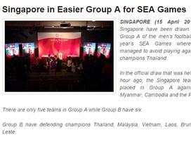 Báo chí khu vực đánh giá bảng B nặng hơn bảng A ở SEA Games 28