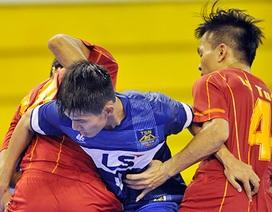 Ba đội bóng tranh ngôi vô địch giải futsal quốc gia 2015