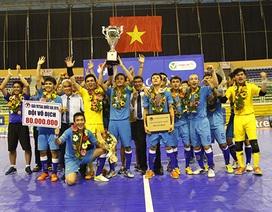 Sanna Khánh Hòa lần đầu vô địch futsal quốc gia