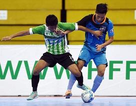 Fishan Ninh Thuận dừng chân sau giai đoạn 1 giải futsal quốc gia 2015