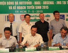 JMG toàn cầu mở thêm học viện bóng đá tại TPHCM